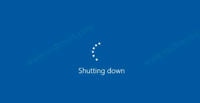 Windows 10 Shutting Down