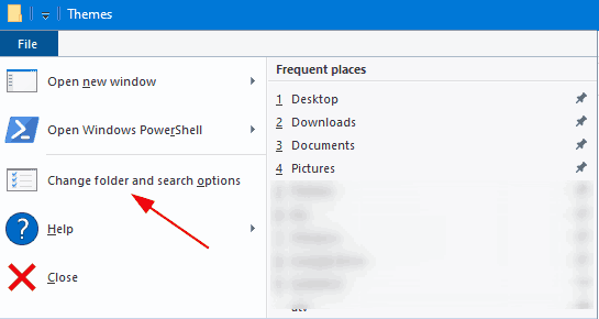Windows 10 Remove Frequent Folders