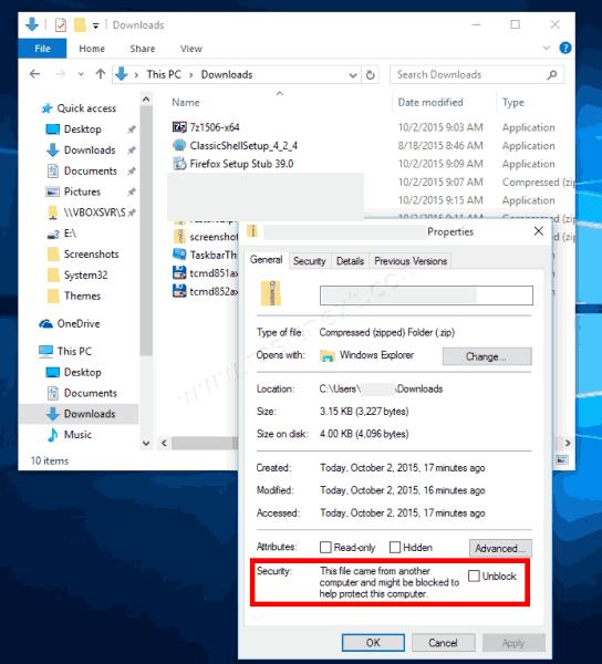 Windows 10 Unblock A File 544x600