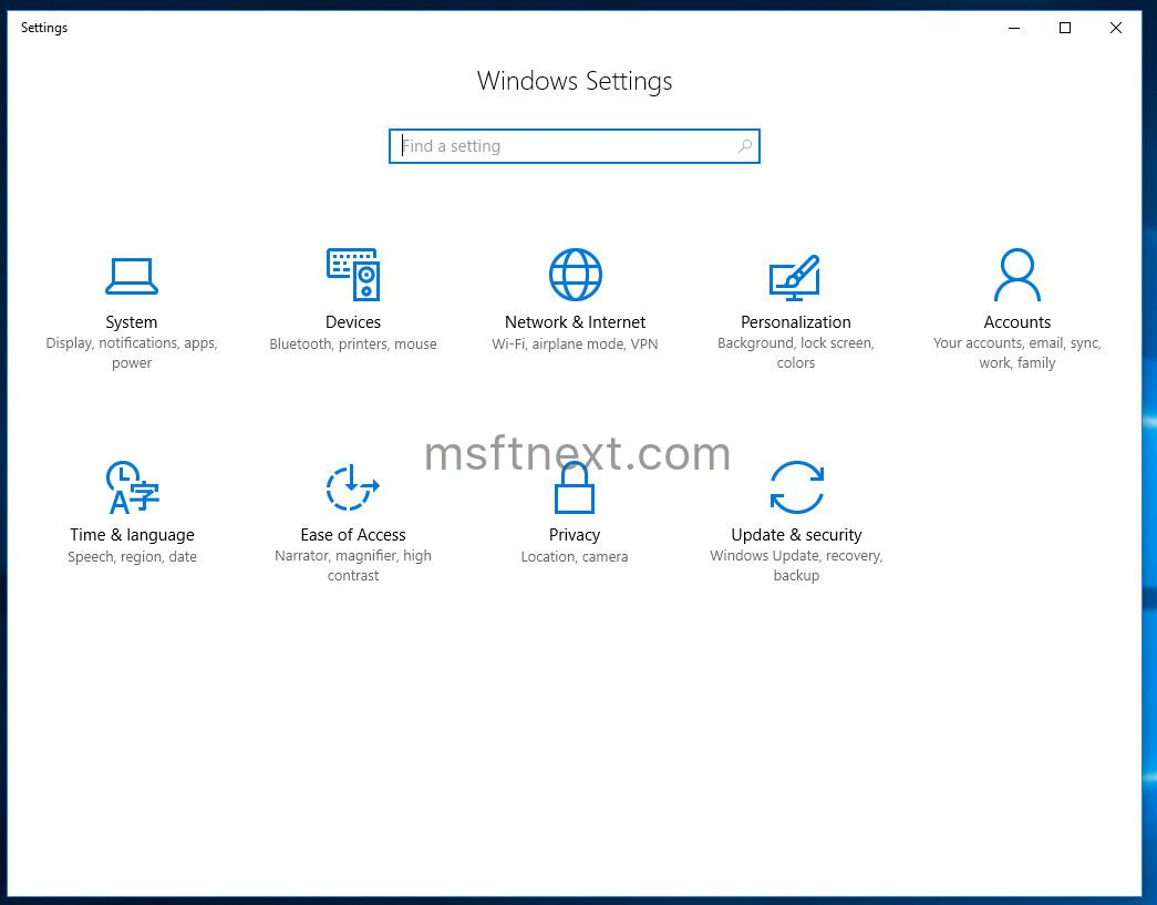 How to Open Settings in Windows 10