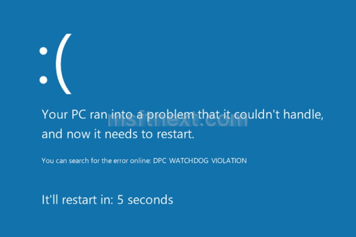 How to disable BSOD auto restart in Windows 10