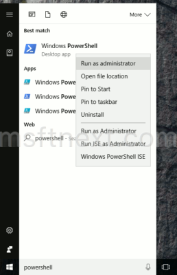 powershell-run-as-administrator