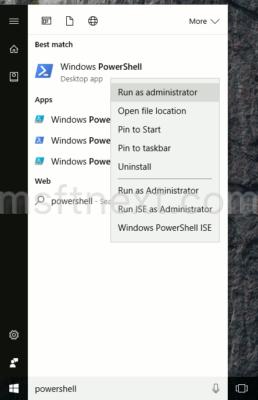 powershell-run-as-administrator