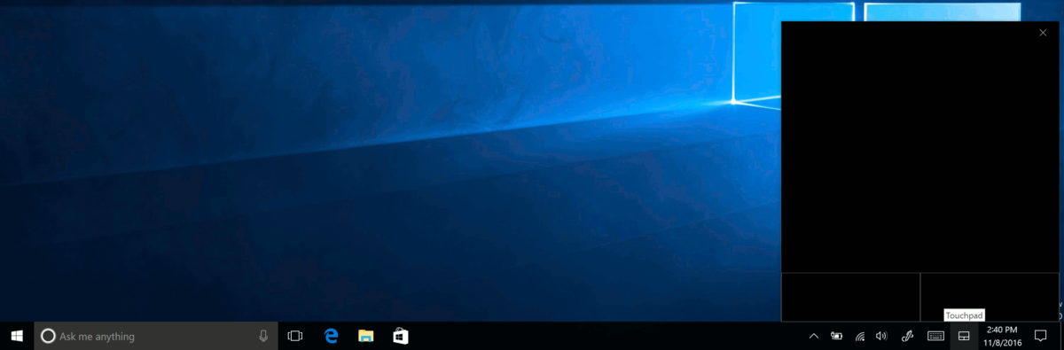 How to enable Virtual Touchpad in Windows 10