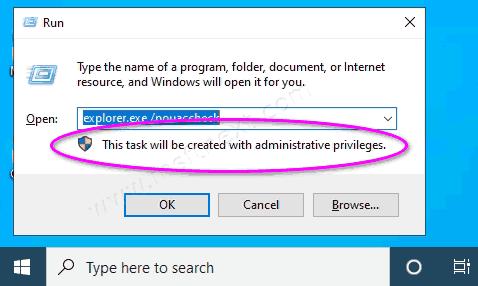 Windows 10 Explorer As Administrator Elevated