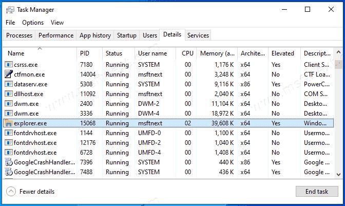 Windows 10 File Explorer Running As Administator Elevated