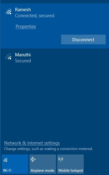 Hide Neighbourhood WiFi SSIDs