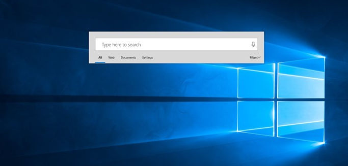 Enable Cortana Floating Search Bar in Windows 10