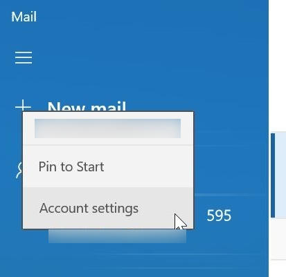 Remove An Email Account Windows 10