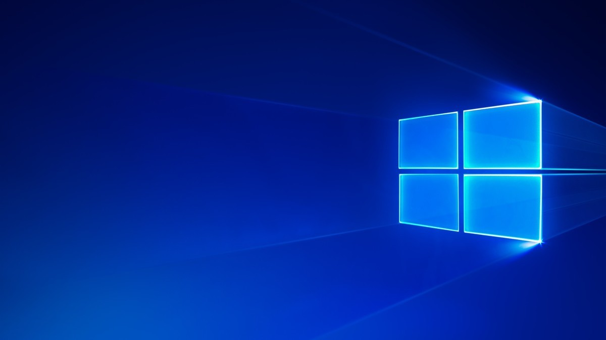 Windows 10 S Cloud Wallpaper Logo