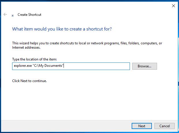 Windows 10 Pin Any Folder To Taskbar Pic2