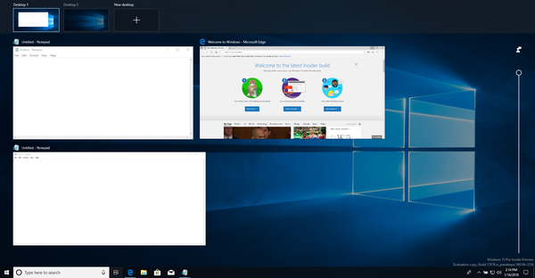 How to Manage Virtual Desktops in Windows 10 (Task View)