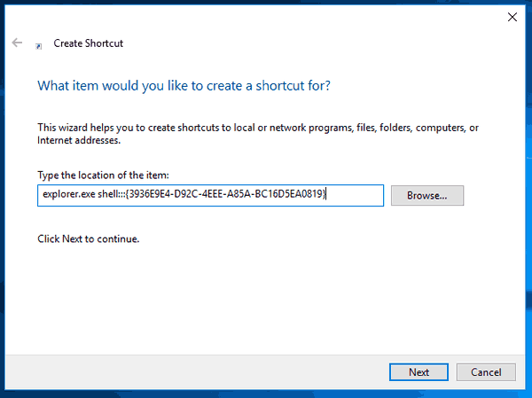 Create Frequent Folders Shortcut In Windows 10