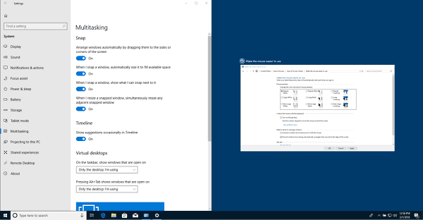 DIsable Aero Snap In Windows 10 Pic4