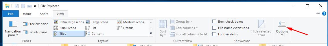 Enable Libraries In Windows 10 Figure 2