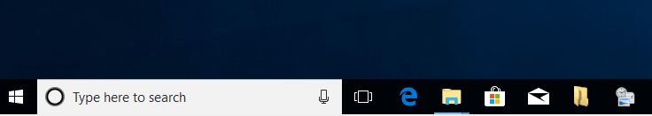 Pinned Frequent Folders To Taskbar In Windows 10