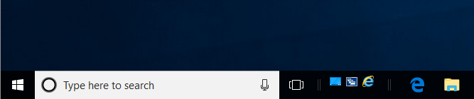 Windows 10 Quick Launch Toolbar