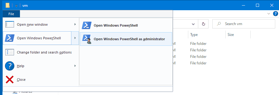 Windows 10 Open PowerShell As Administrator