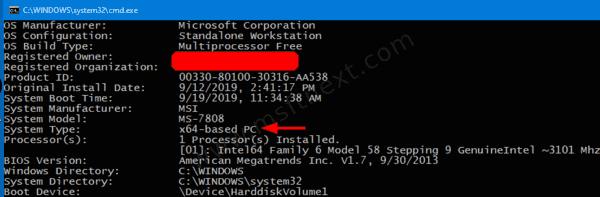 Windows 10 32 Bit Or 64 Bit Cmd