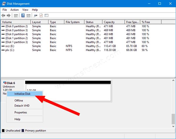 Disk Management Attach VHD 3