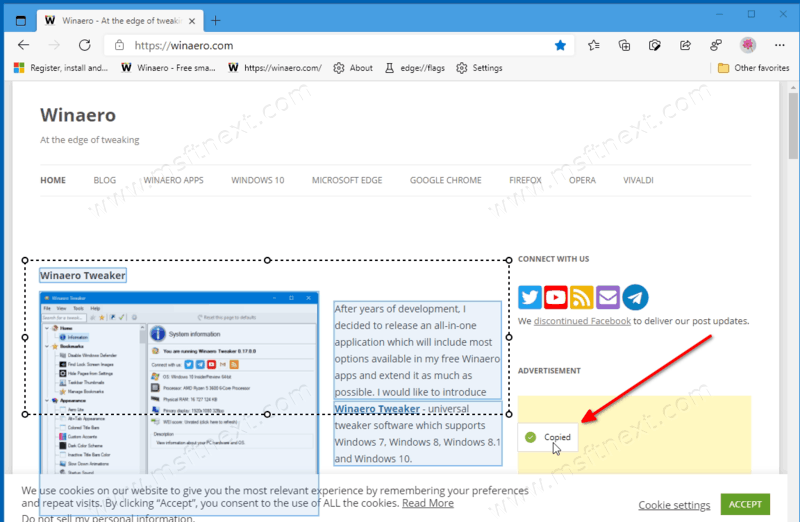 How to Use Smart Copy in Microsoft Edge