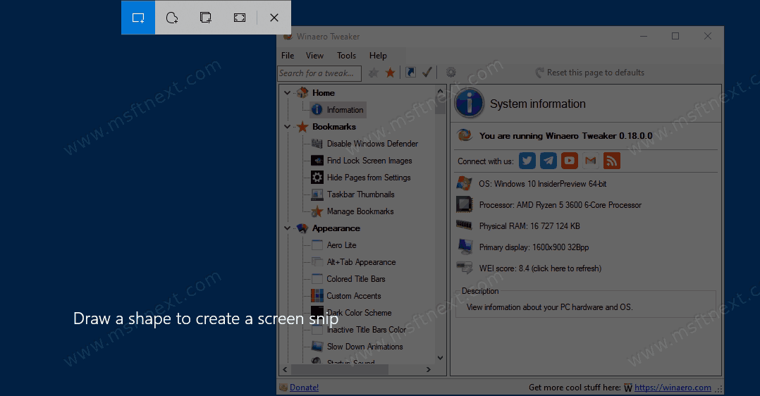 Windows 10 Capture A Screenshot To Search With