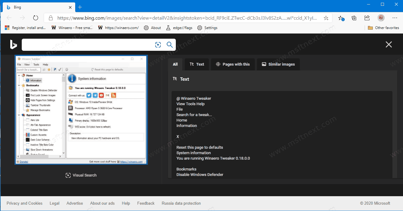 Windows 10 Search With Screenshot 1
