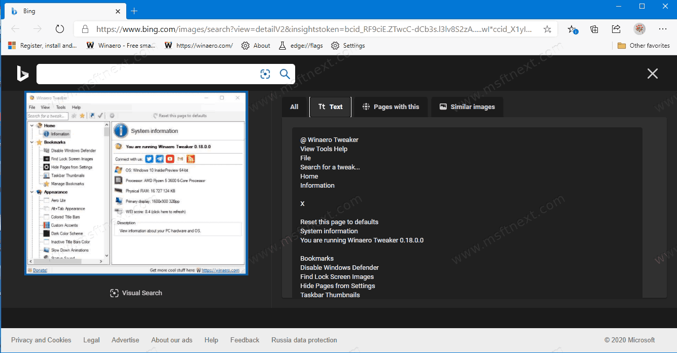 Windows 10 Search With Screenshot 2