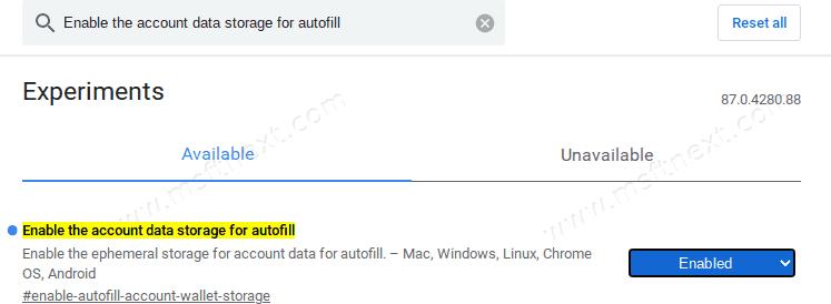 Save Passwords To Google Account 3