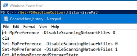 Export PowerShell Command History To a File