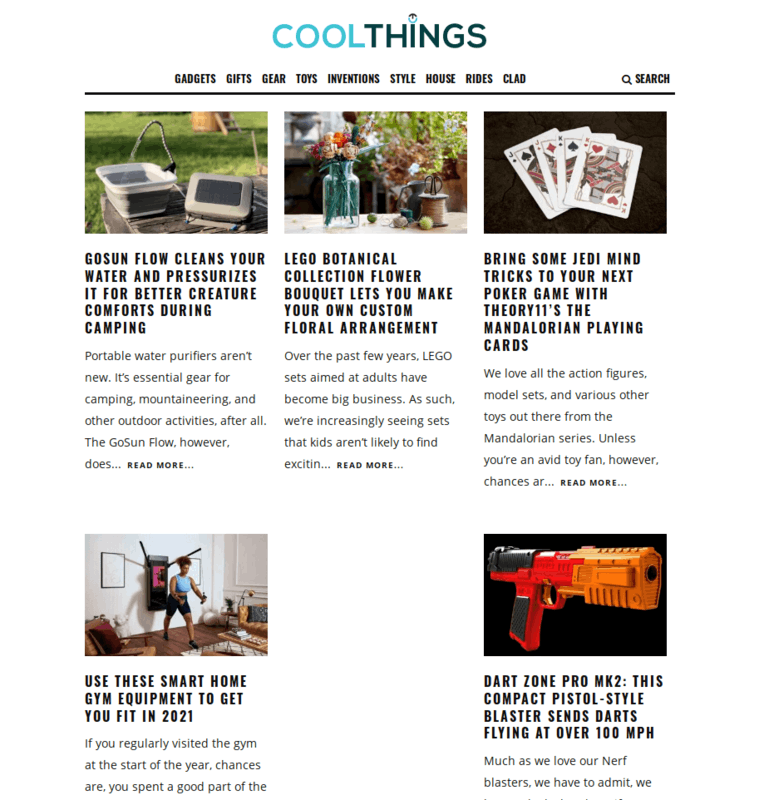 Coolthings Thinkgeek Alternative