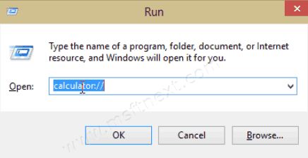 URI Commands To Launch Apps In Windows 10