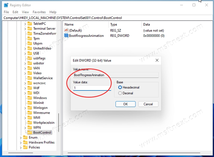 Enable New Boot Animation In Windows 11