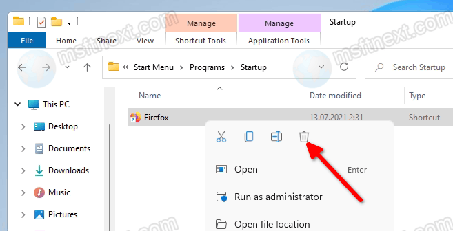 Remove Startup Application For All Users