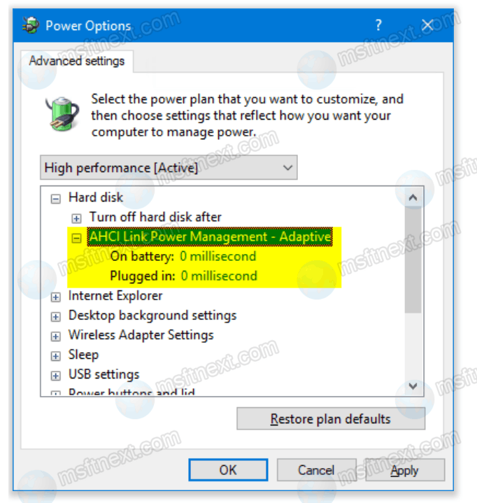 How to Enable Hidden Power Settings in Windows 10