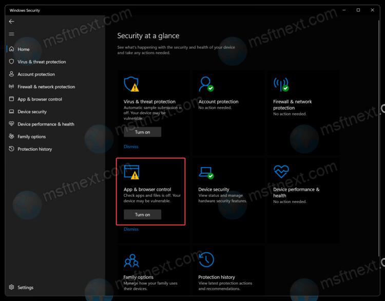 Re-Enable Windows SmartScreen