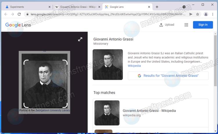 Google Lens In Google Chrome On Desktop
